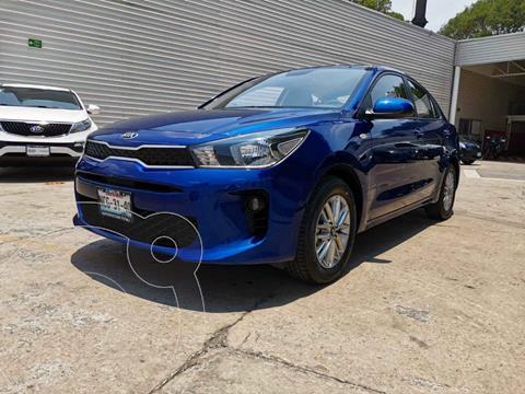 Kia Rio Sedan LX usado (2018) color Azul precio $229,000