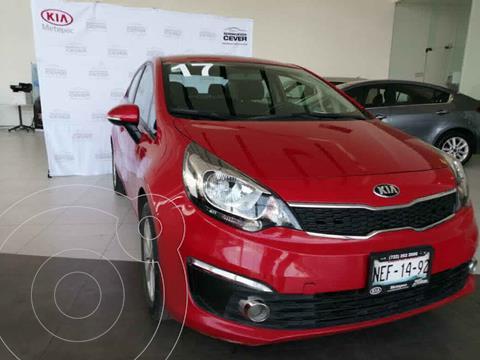 Kia Rio Sedan EX usado (2017) color Rojo precio $204,900