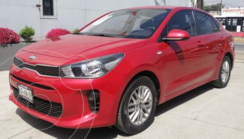 Kia Rio Sedan LX Aut usado (2020) color Rojo precio $268,000