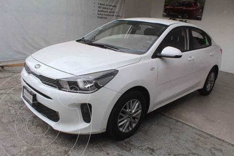 Kia Rio Sedan LX Aut usado (2018) color Blanco precio $229,000