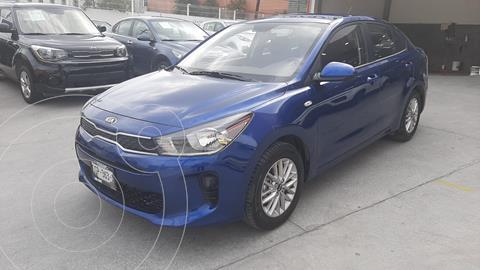 Kia Rio Sedan LX usado (2020) color Azul precio $255,000