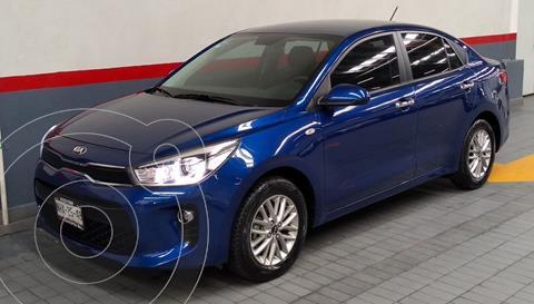 Kia Rio Sedan EX Aut usado (2019) color Azul precio $265,000