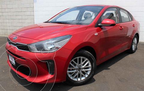 Kia Rio Sedan LX usado (2018) color Rojo precio $195,000