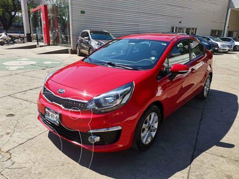 Kia Rio Sedan EX usado (2017) color Rojo precio $200,000