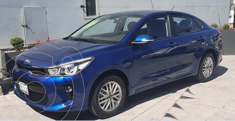 Kia Rio Sedan EX Aut usado (2018) color Azul precio $225,000