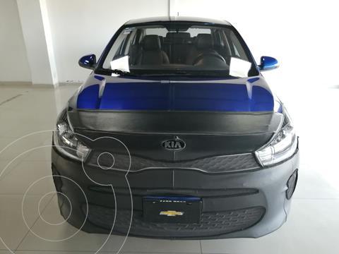 Kia Rio Sedan LX usado (2020) color Azul precio $250,000