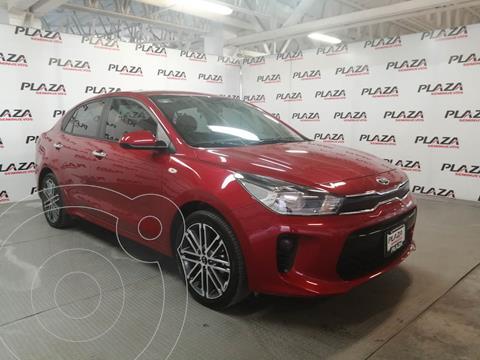 Kia Rio Sedan EX Aut usado (2020) color Rojo precio $285,000
