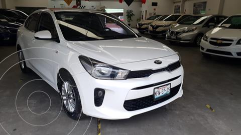 Kia Rio Sedan LX usado (2018) color Blanco precio $230,000