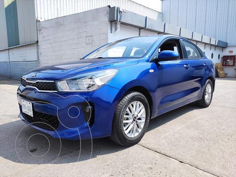Kia Rio Sedan SEDAN LX 1.6L L4 121HP MT usado (2018) color Azul precio $190,000