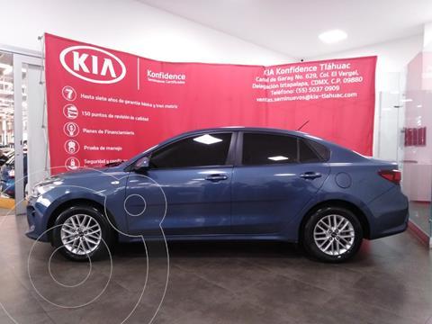 Kia Rio Sedan LX Aut usado (2020) color Azul precio $259,000