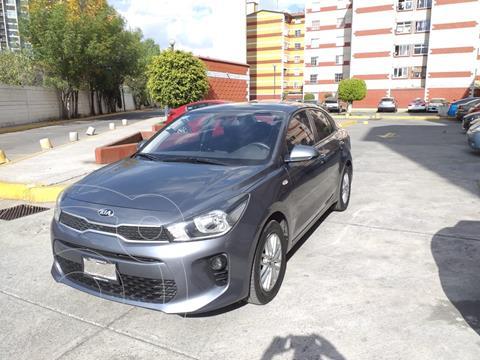 Kia Rio Sedan LX Aut usado (2018) color Gris Urbano precio $170,000