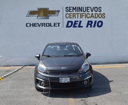 Kia Rio Sedan EX usado (2017) color Gris Oscuro precio $210,000
