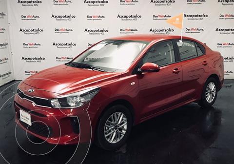 Kia Rio Sedan LX Aut usado (2020) color Rojo financiado en mensualidades(enganche $51,400 mensualidades desde $6,171)