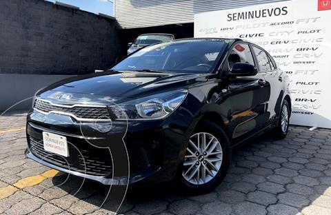 Kia Rio Sedan LX Aut usado (2019) color Negro precio $245,000