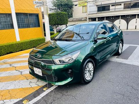 Kia Rio Sedan LX usado (2018) color Verde precio $209,900