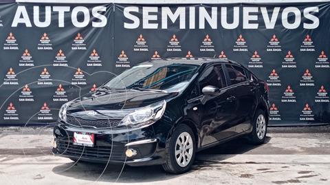Kia Rio Sedan LX usado (2017) color Negro precio $189,000