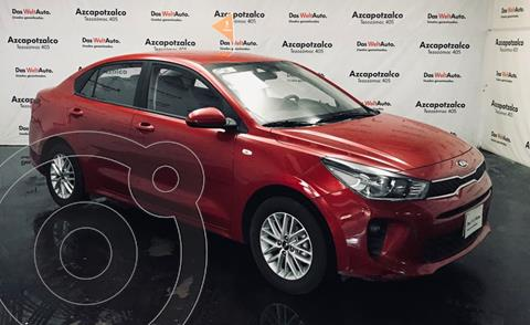 Kia Rio Sedan LX Aut usado (2020) color Rojo precio $256,990