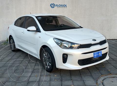 Kia Rio Sedan L usado (2020) color Blanco precio $219,900