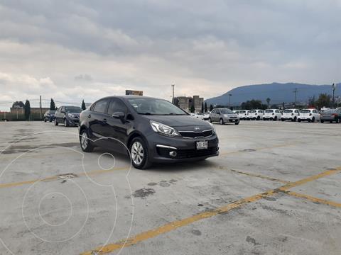 Kia Rio Sedan EX usado (2017) color Negro precio $198,900