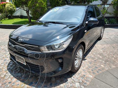 Kia Rio Sedan LX usado (2020) color Negro Perla precio $249,000
