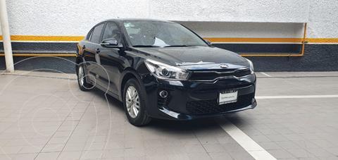 Kia Rio Sedan EX usado (2018) color Negro precio $235,000
