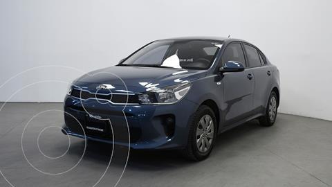 Kia Rio Sedan L usado (2020) color Azul precio $245,200