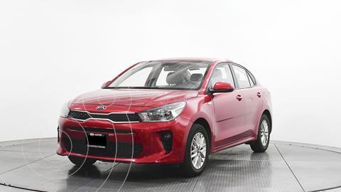 Kia Rio Sedan LX Aut usado (2020) color Rojo precio $240,500