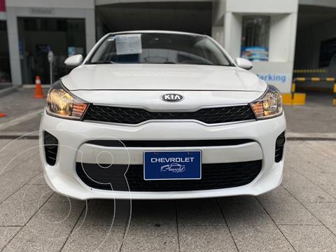 Kia Rio Sedan EX Aut usado (2018) color Blanco precio $205,000