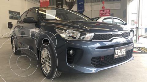 Kia Rio Sedan LX Aut usado (2019) color Azul Zinc precio $245,000