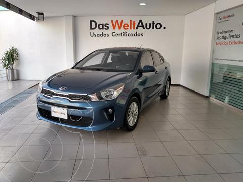 Kia Rio Sedan LX usado (2020) color Azul precio $245,000