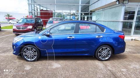 Kia Rio Sedan EX Pack Aut usado (2019) color Azul precio $265,000