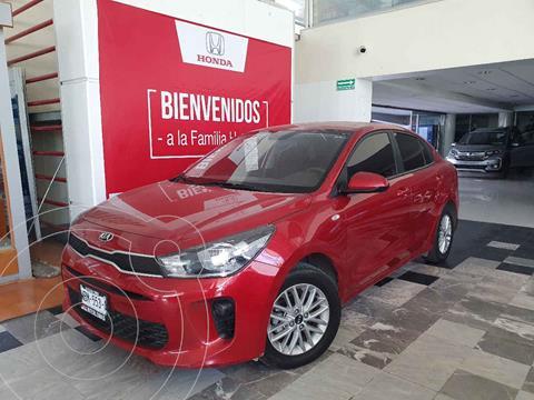 Kia Rio Sedan LX Aut usado (2020) color Rojo precio $239,000