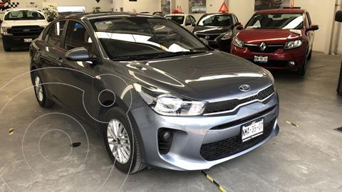 Kia Rio Sedan LX usado (2020) color Gris Urbano precio $239,000