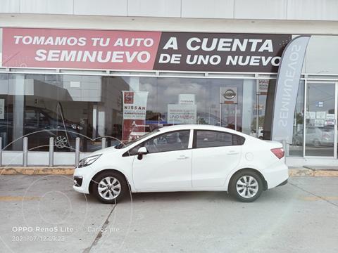 Kia Rio Sedan EX usado (2017) color Blanco precio $220,000