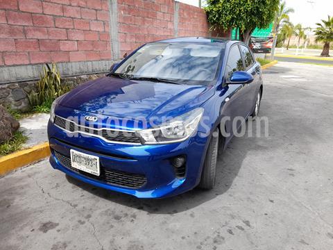 Kia Rio Sedan LX usado (2020) color Azul precio $219,000