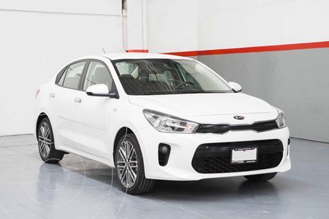 Kia Rio Sedan EX Aut usado (2019) color Blanco precio $245,000