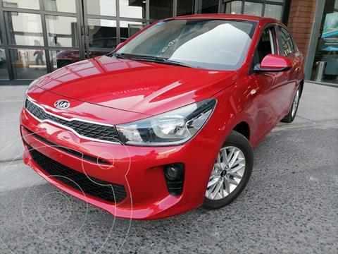 Kia Rio Sedan LX usado (2020) color Rojo precio $258,000