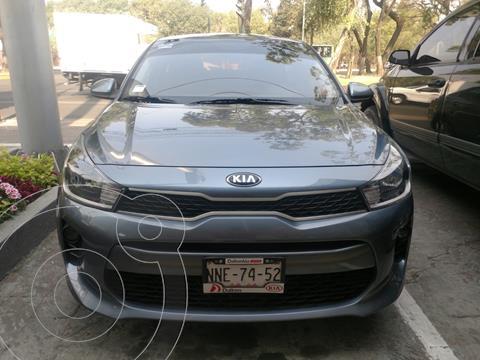Kia Rio Sedan LX usado (2020) color Gris precio $237,000