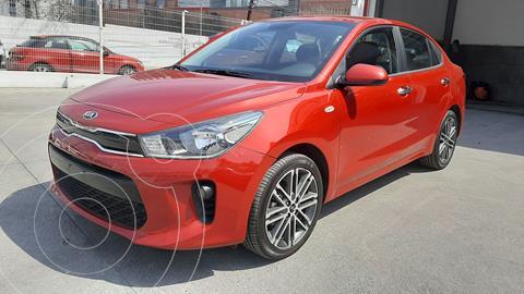 Kia Rio Sedan EX usado (2020) color Rojo precio $295,750