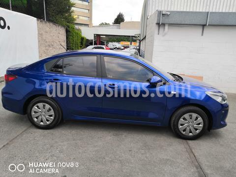 Kia Rio Sedan EX usado (2019) color Azul precio $195,000
