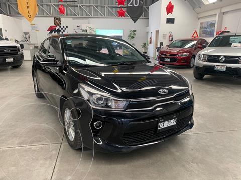 Kia Rio Sedan EX Aut usado (2018) color Negro Perla precio $235,000