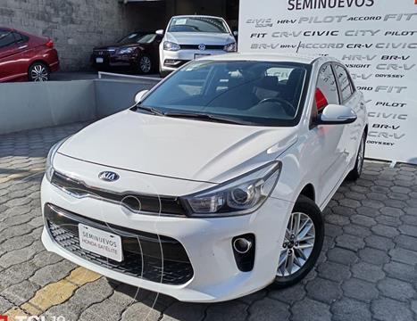 Kia Rio Sedan EX Aut usado (2018) color Blanco precio $237,000