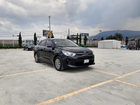 Kia Rio Sedan L usado (2019) color Negro precio $188,900