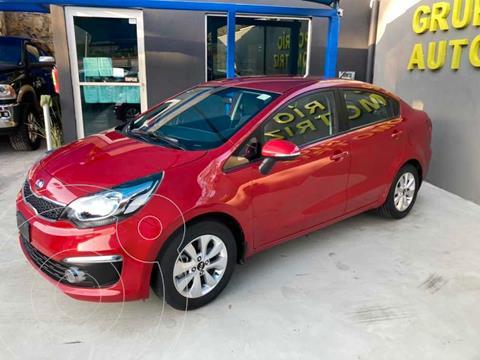 Kia Rio Sedan EX usado (2017) color Rojo precio $172,000
