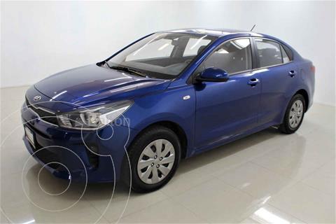 Kia Rio Sedan L usado (2020) color Azul precio $215,000