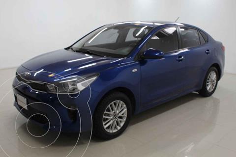 Kia Rio Sedan LX usado (2018) color Azul precio $213,000