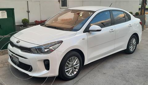 Kia Rio Sedan LX Aut usado (2018) color Blanco precio $209,000
