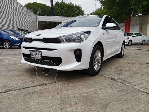 Kia Rio Sedan LX usado (2020) color Blanco precio $249,000