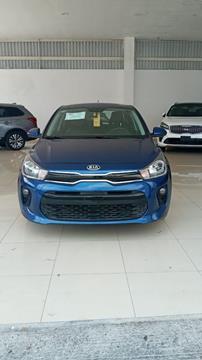 Kia Rio Sedan EX usado (2018) color Azul Acero precio $275,000