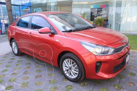 Kia Rio Sedan EX usado (2018) color Rojo precio $225,000